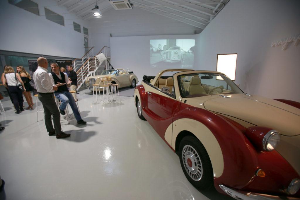 Automóvil Hurtan para eventos en alquiler